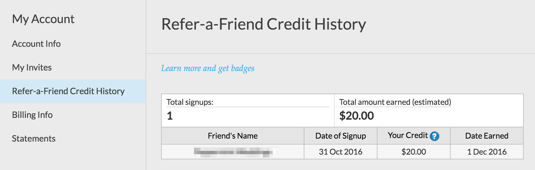 refer a friend referral program photoshelter support center this will pop up a new window into which you email this person directly to say thank you introduce yourself etc