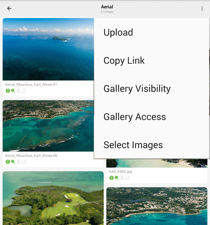 Using the Mobile App – PhotoShelter Support Center